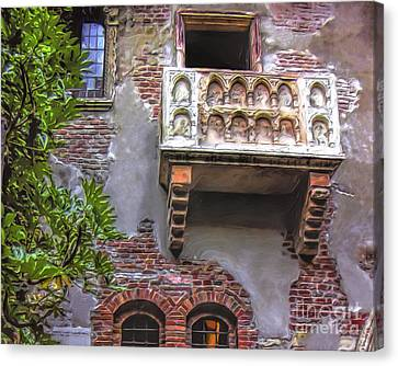 Waiting For Juliet Canvas Print