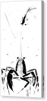 Waiting For The Right Moment Canvas Print by Oiyee At Oystudio