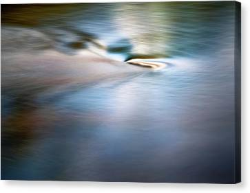 Waiting For The River Canvas Print