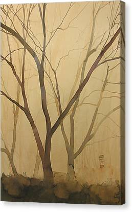 Waiting For The Spring Canvas Print by Alessandro Andreuccetti