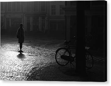 Waiting.... Canvas Print