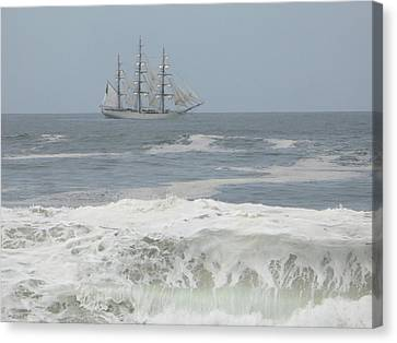 Waiting On My Ship Canvas Print