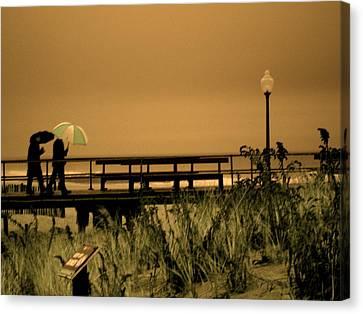 Waiting On The Rain Canvas Print