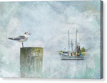 Waiting On Your Ship To Come In Canvas Print