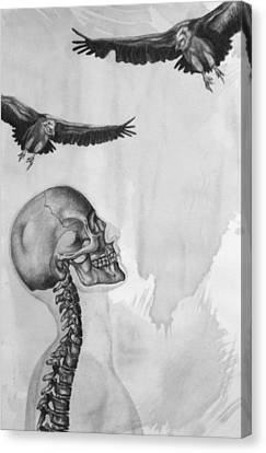 Waiting Canvas Print by Phil Spaulding