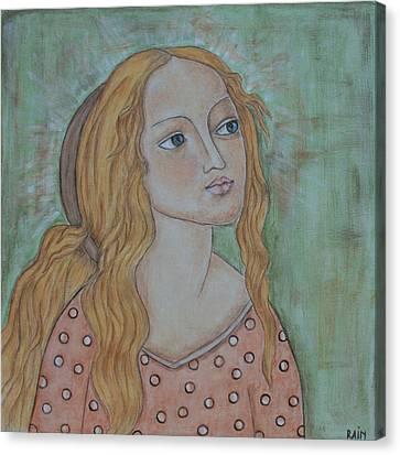 Waiting Canvas Print by Rain Ririn