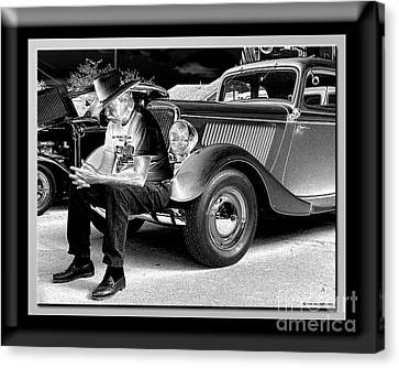 Waiting  Canvas Print by Sue Stefanowicz