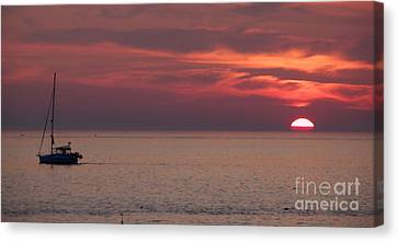Waiting To Sail Canvas Print