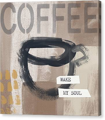 Book Cover Canvas Print - Wake My Soul- Art By Linda Woods by Linda Woods