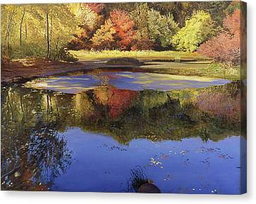 Walden Pond II Canvas Print by Art Chartow