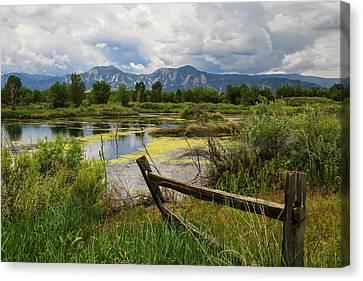 Waldon Ponds Canvas Print