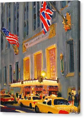 Waldorf-astoria Canvas Print
