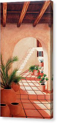 Walk Into The Light - Prints Made From Original Oil Paintings By Mary Grden Canvas Print