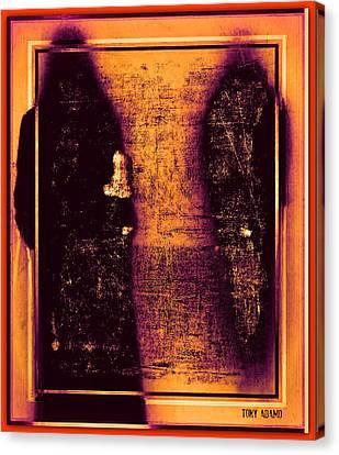 Walk With The Forbidden Canvas Print by Tony Adamo