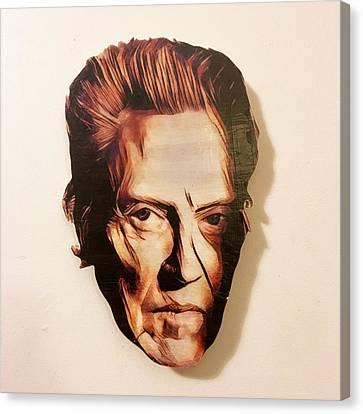 Walken Head Piece  Canvas Print
