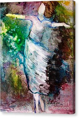 Walking In The Spirit Canvas Print