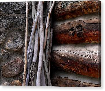 Walking Sticks Canvas Print