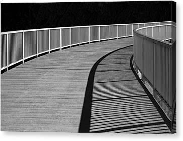 Walkway Canvas Print by Chevy Fleet