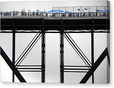 Walkway Over The Hudson 2009 Opening Day Celebration Canvas Print