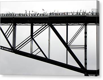 Walkway Over The Hudson No 11  Opening Day 2009 Canvas Print