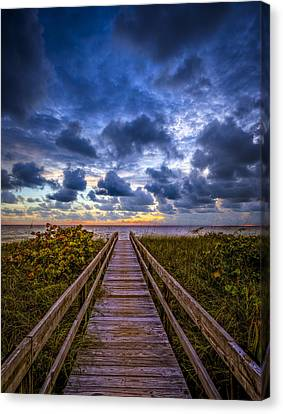 Walkway To Tomorrow. Canvas Print
