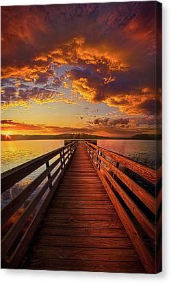 Vertical Canvas Print - Walkyn Skywyrd by Phil Koch