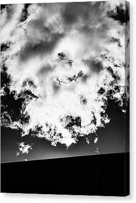 Canvas Print - Wall And Cloud - Madison - Wisconsin by Steven Ralser