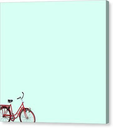Wall Bici Canvas Print