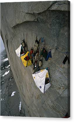 Wall Camp At An Elevation Of 4000 Feet Canvas Print