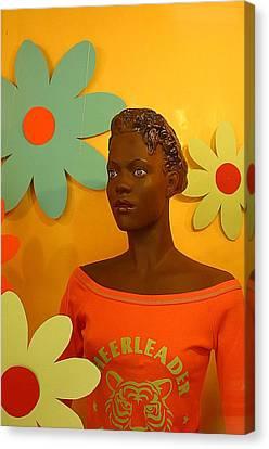 Wall Flower Canvas Print by Jez C Self