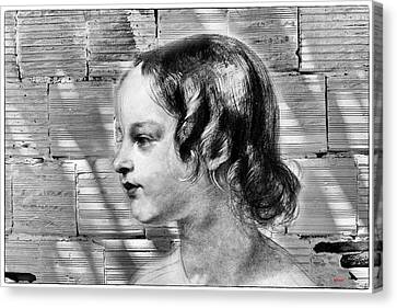 Wall Mural Of Youth Canvas Print by KJ DePace