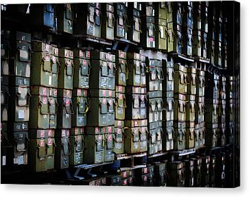 Wall Of Containment Canvas Print