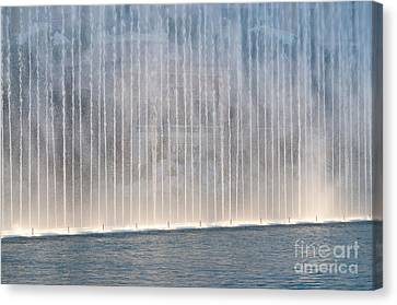 Wall Of Water Canvas Print