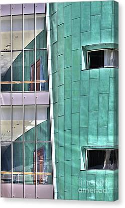 Wall Of Windows Canvas Print
