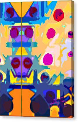 Wall Paper Canvas Print