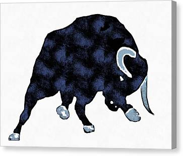 Wall Street Bull Market Series 1 Canvas Print by Edward Fielding
