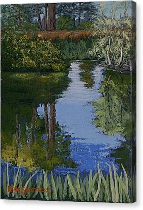 Waller Park Pond Canvas Print by Ron Smothers
