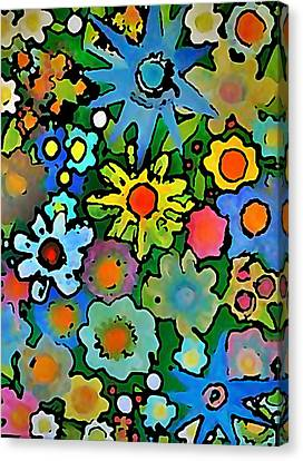 Wallflowers Canvas Print by Gregory McLaughlin
