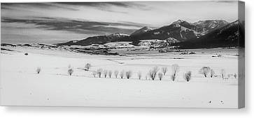 Canvas Print featuring the photograph Wallowa Mountains by Cat Connor