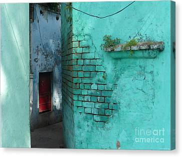 Walls Canvas Print