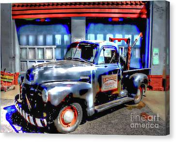 The Andy Griffith Show Canvas Print - Wally's Service And Towing - Mayberry, North Carolina by Ed Sanseverino Photography