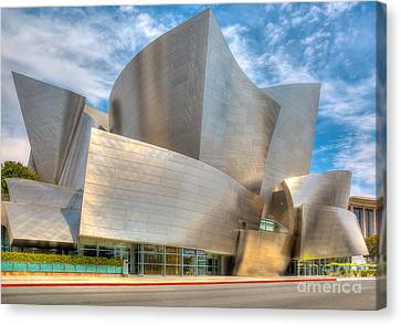 Walt Disney Concert Hall - Los Angeles Canvas Print