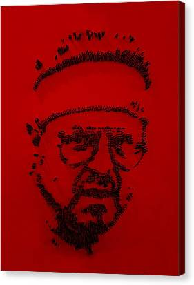 Walter Sobchak Nailed Red  Canvas Print by Rob Hans