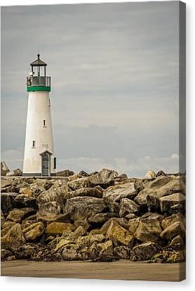 Walton Lighthouse Canvas Print by James Hammond