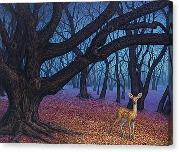 Wanderer Canvas Print by James W Johnson