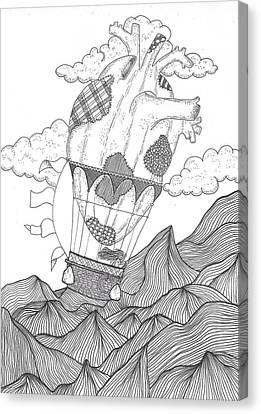 Reviving Canvas Print - Wanderer by Melissa Solecki