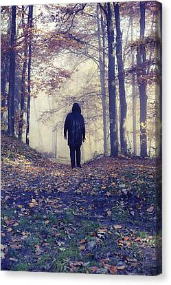 Wanderer Canvas Print by Art of Invi