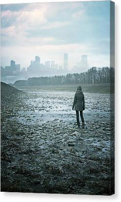 Wanderer Canvas Print by Cambion Art