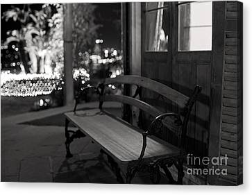 Canvas Print featuring the photograph Wandering Around The Night by Aiolos Greek Collections