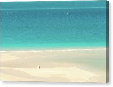 Ocean Inlet Canvas Print - Wanderlust by Az Jackson